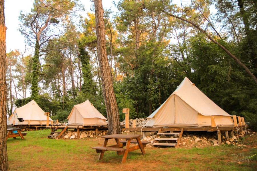 Bell Tents Camp Dvor