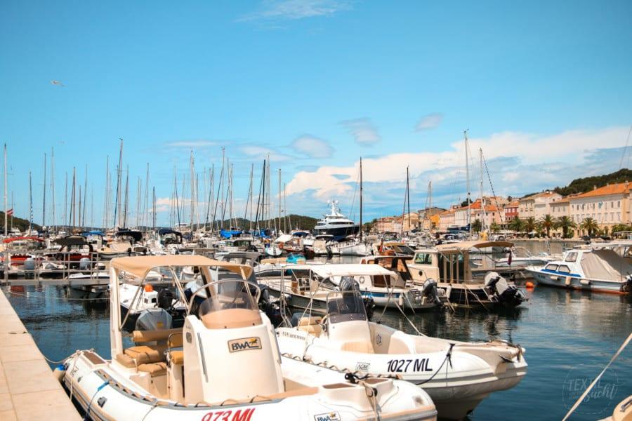 Hafen von Mali Lošinj