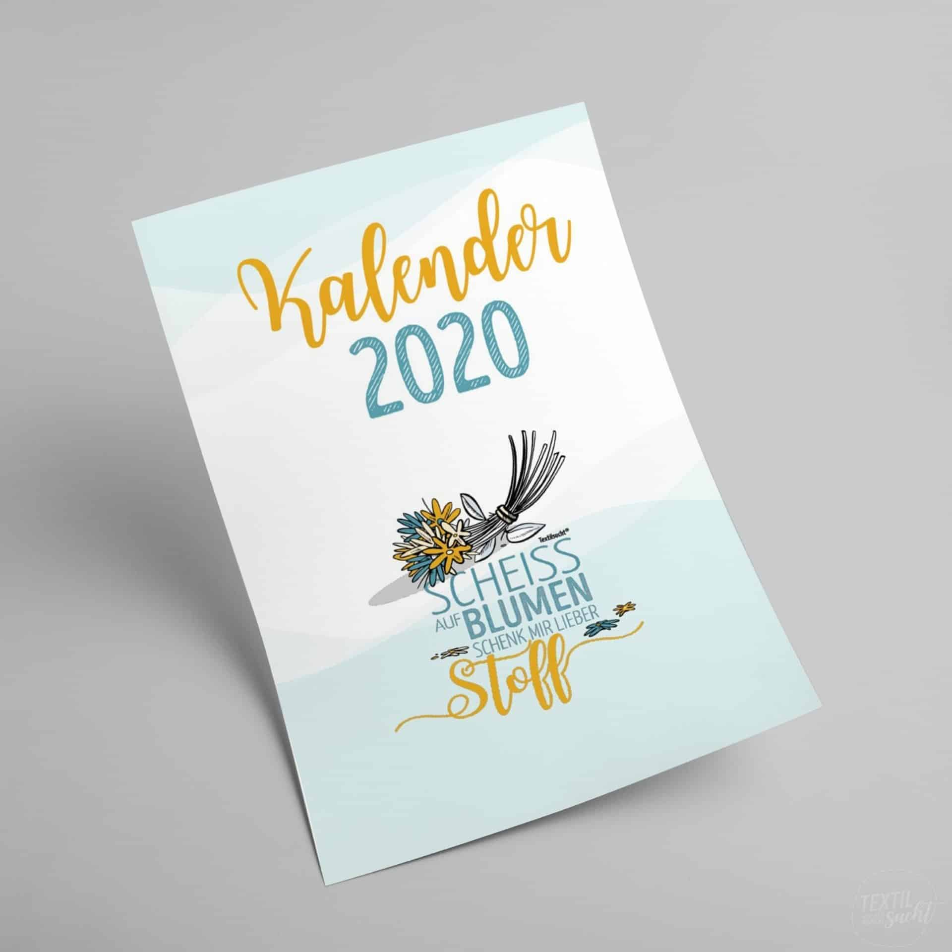 Nähkalender Sprüche 2020 Pdf Zum Selbst Ausdrucken