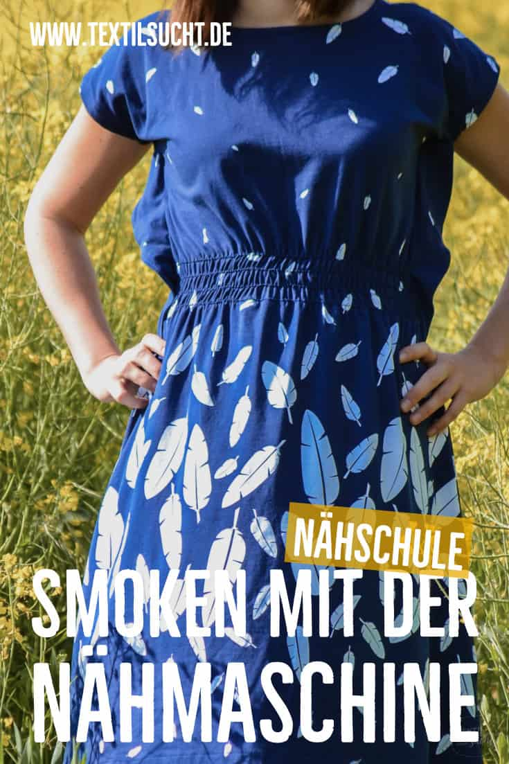 Smoken mit der Nähmaschine