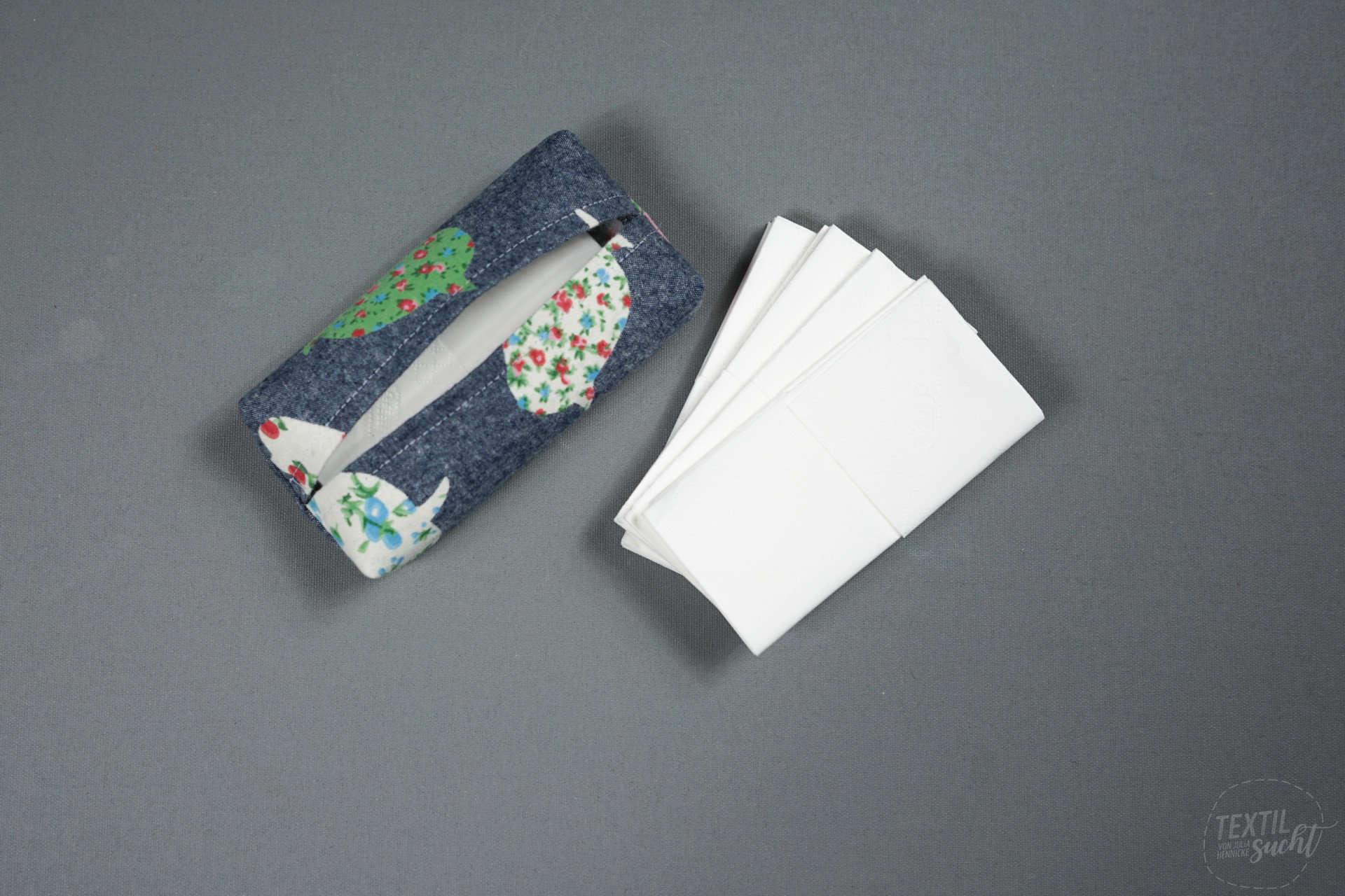Taschentücher Tasche nähen