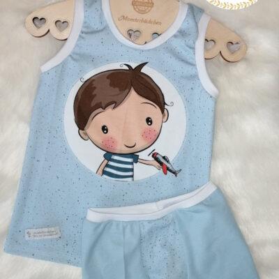 Schnittmuster Unterhemd, Boxershort und Slip für Kinder