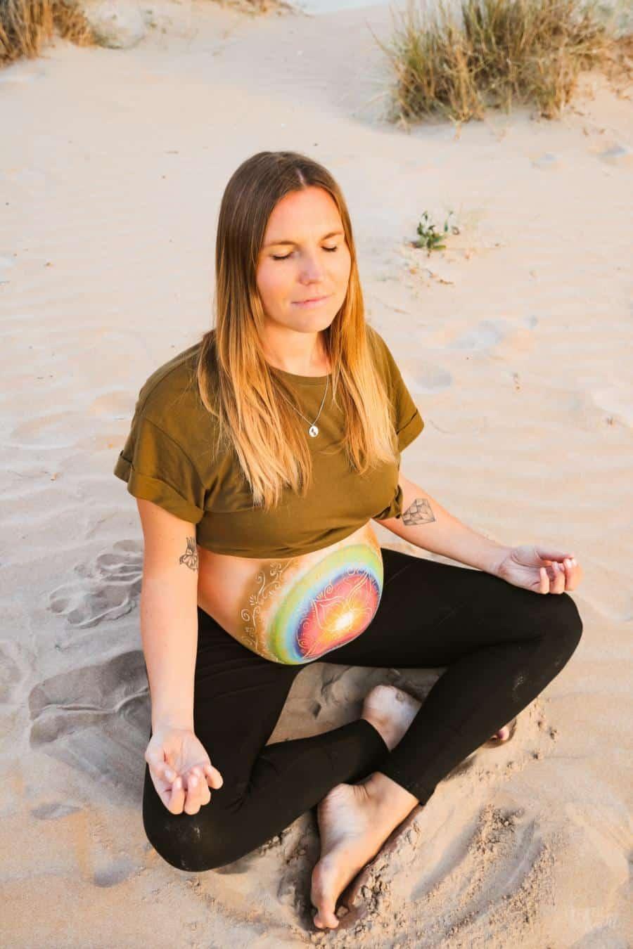Bauchbemalung Schwangerschaft