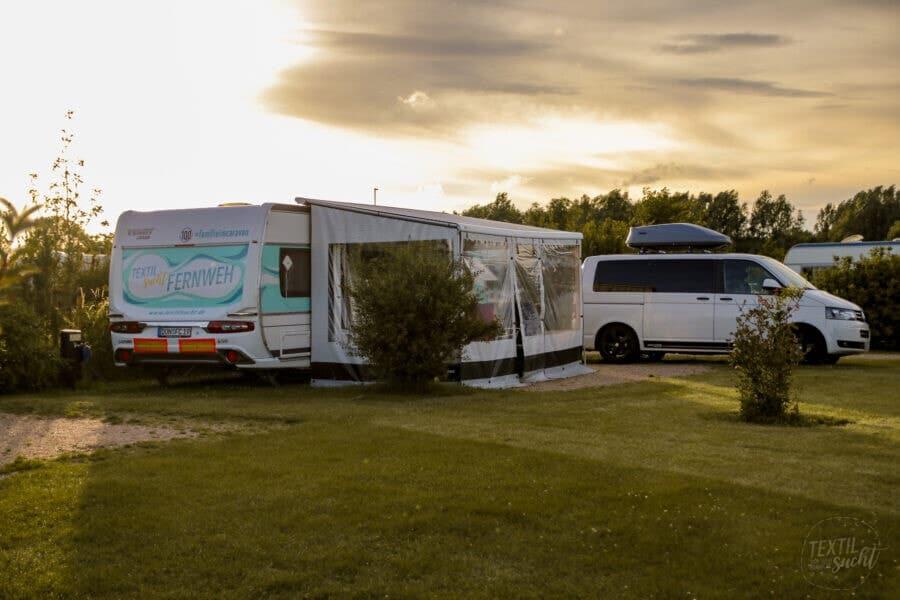 Strandcamping Groede Campingplatz Komfort XL