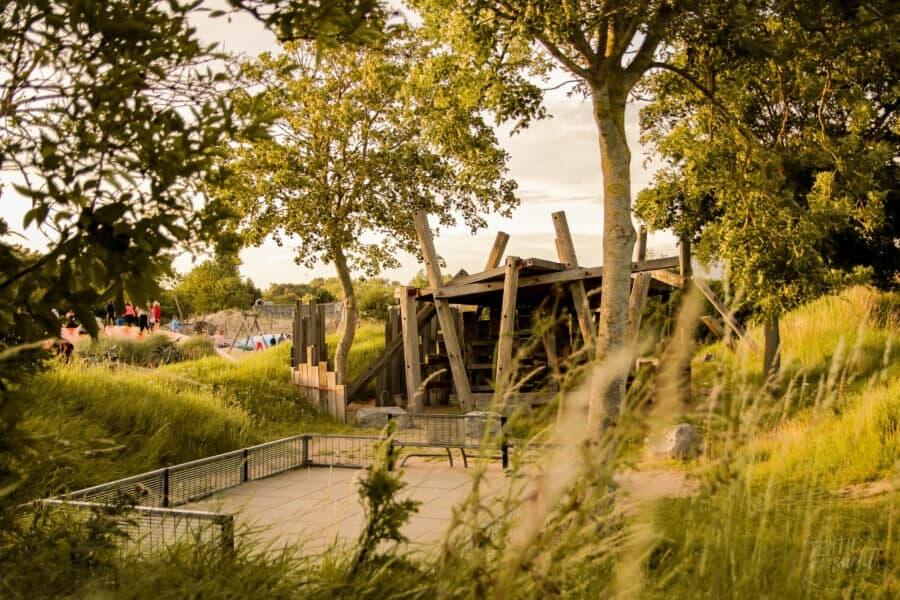 Strandcamping Groede: Kletterhaus