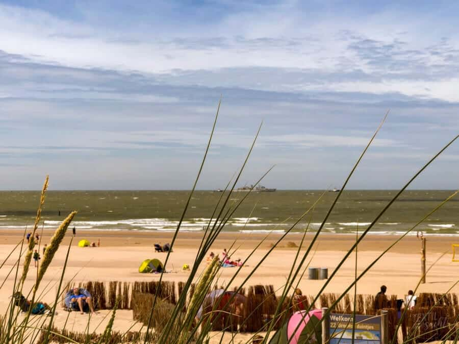 Badestrand Strandcamping Groede