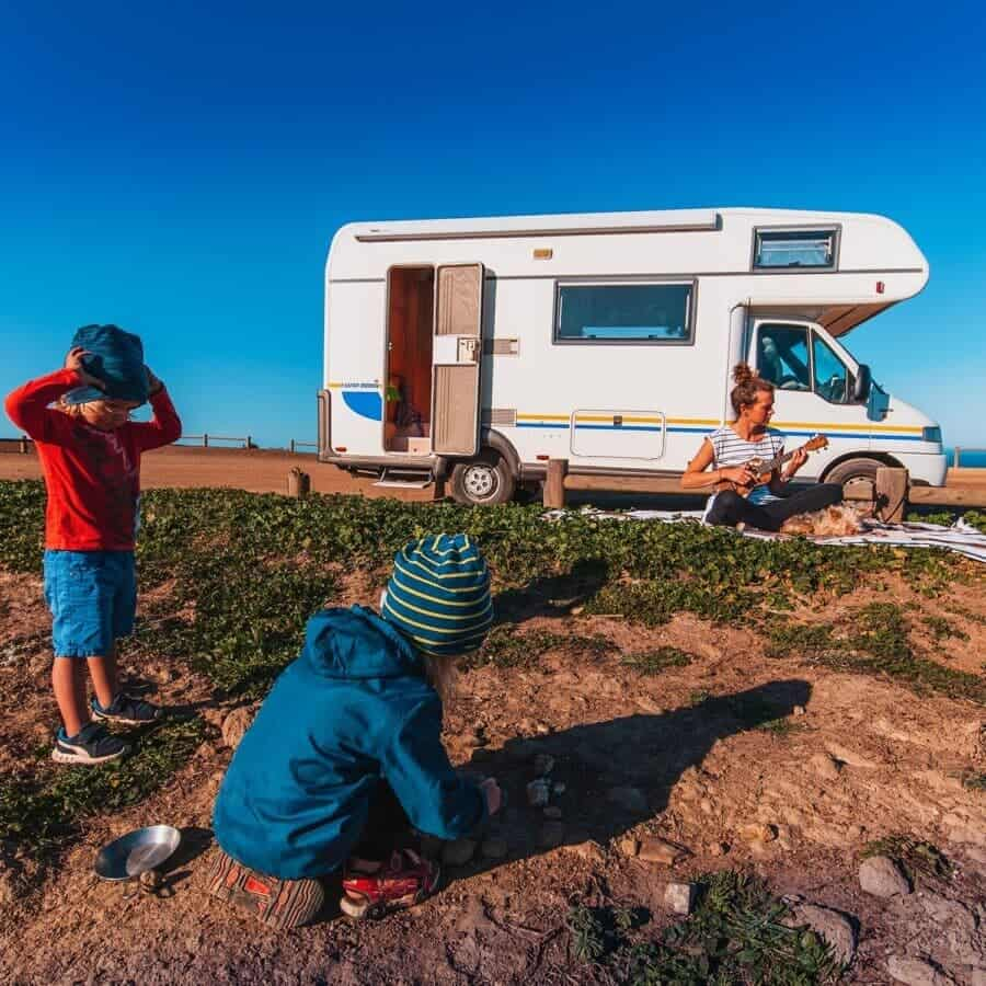 Vanlife Familien im Interview – Trust and Breathe