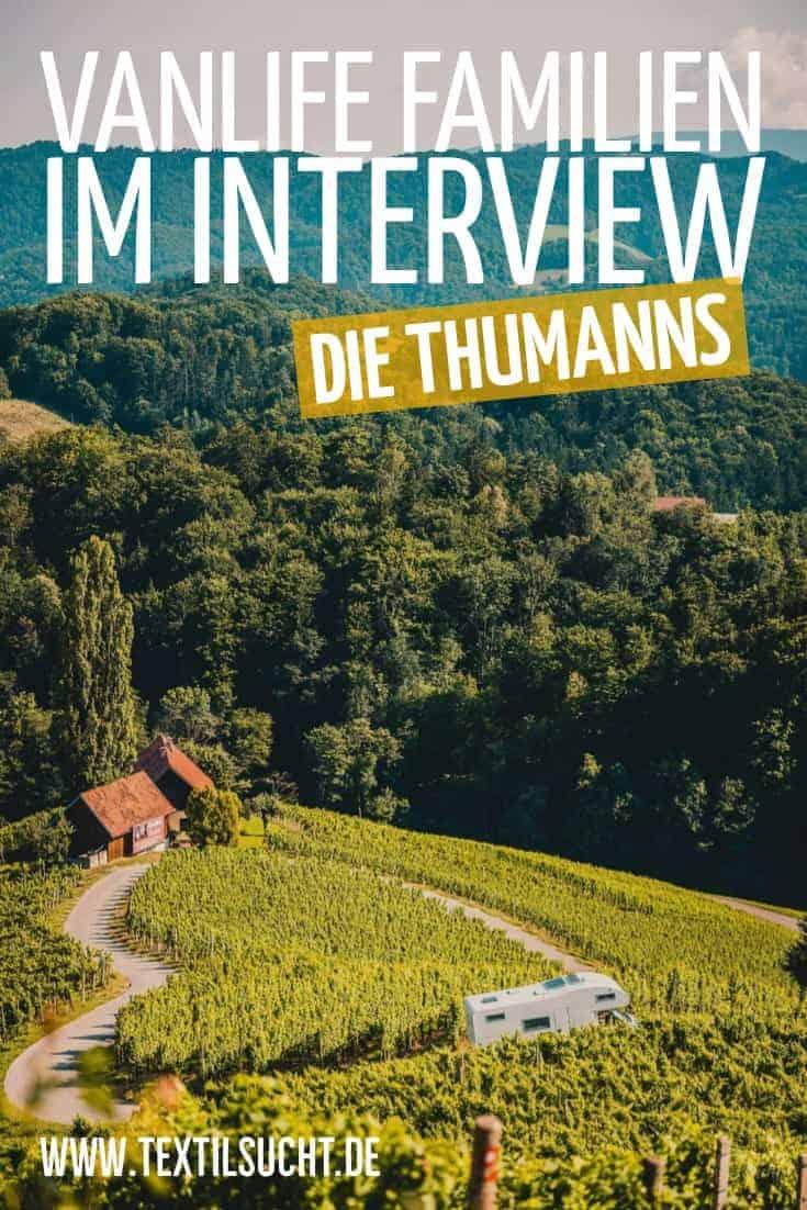 Vanlife Familien im Interview – Die Thumanns