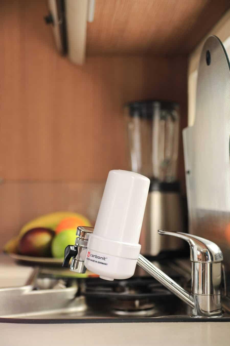 Wasser filtern auf Reise - Reisefilter Go von Carbonit
