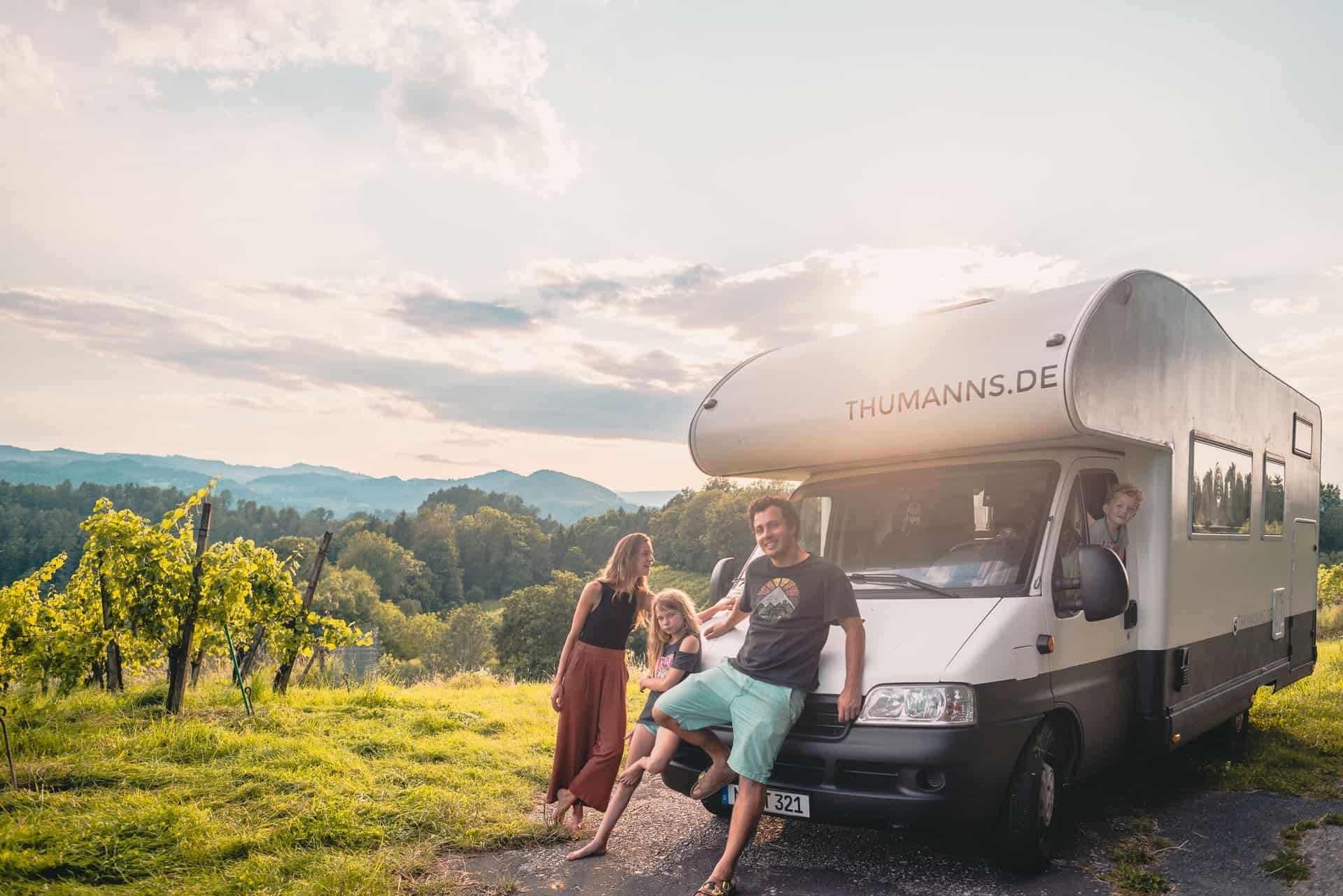 Vanlife Familien im Interview - Die Thumanns
