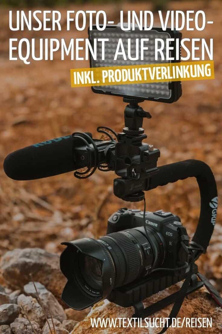 Foto- und Videoequipment auf Reisen