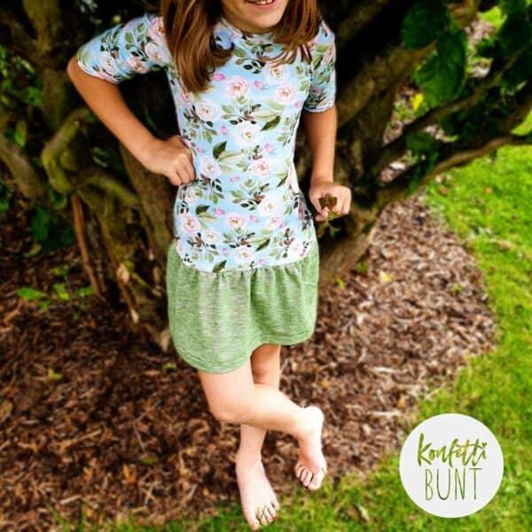 Schnittmuster Kleid Elli für Mädchen
