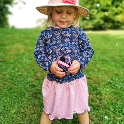 Schnittmuster Kinderkleid Elli - Größe 104