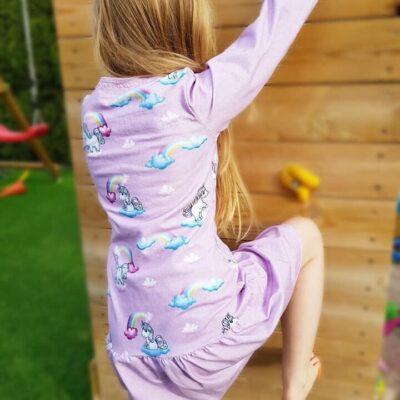 Schnittmuster Kinderkleid Elli - Größe 128