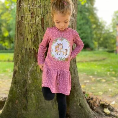 Schnittmuster Kinderkleid Elli - Größe 116