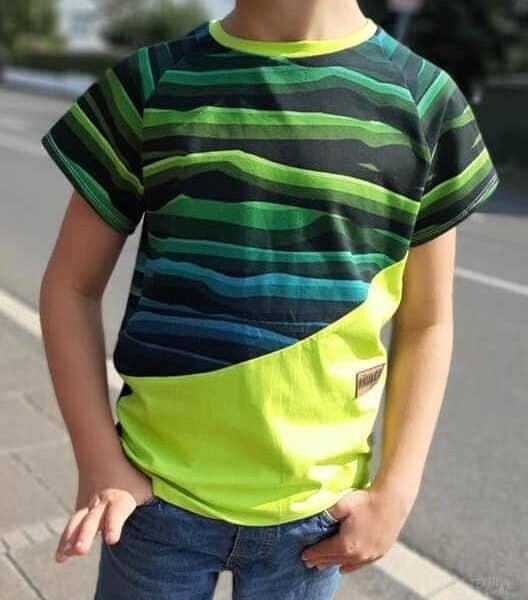 Schnittmuster Shirt Lui 7