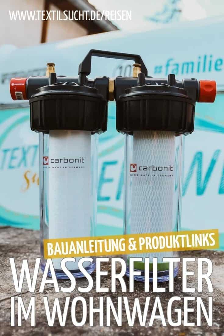 Wasserfilter im Wohnwagen – sauberes Trinkwasser auf Reisen