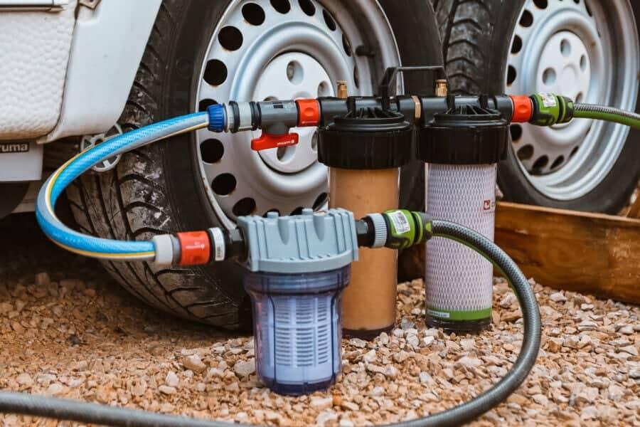 Wasserfilter Wohnwagen
