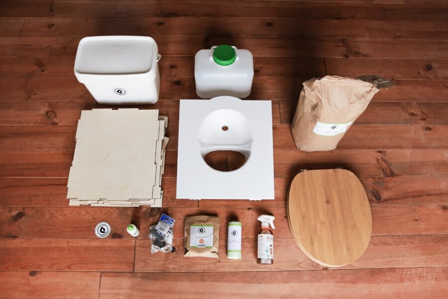 Kildwick Bausatz Campingtoilette / Komposttoilette EasyLoo