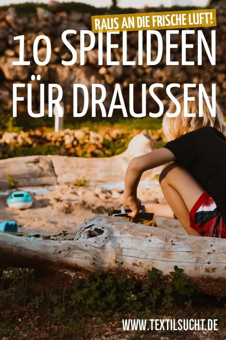 10 Outdoor Spielideen für Kinder