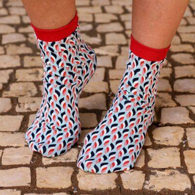 Schnittmuster Socken inkl. Nähanleitung