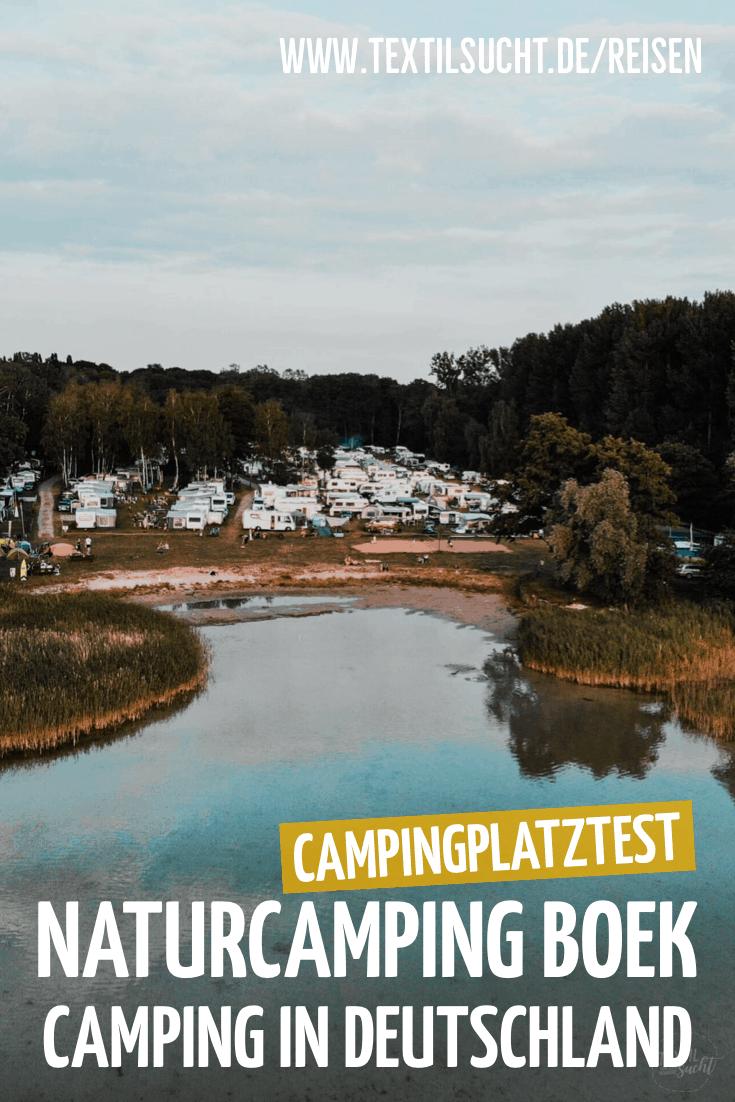 Campingplatztest Naturcamping Boek an der Müritz